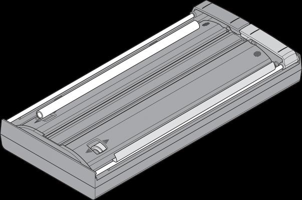 AMBIA-LINE foil/film dispenser (with foil), orion grey