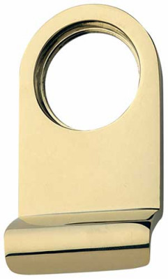 Cylinder pull, round, PVD zirconium coating brass, cylinder holds pull in place, polished