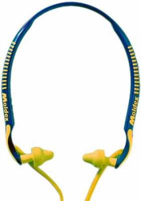 Ear plugs, headset, SNR of 23 db