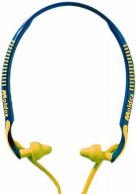 Ear plugs, headset, SNR of 23 db