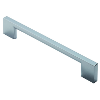 Slim D Handle, centres 128 mm, chrome