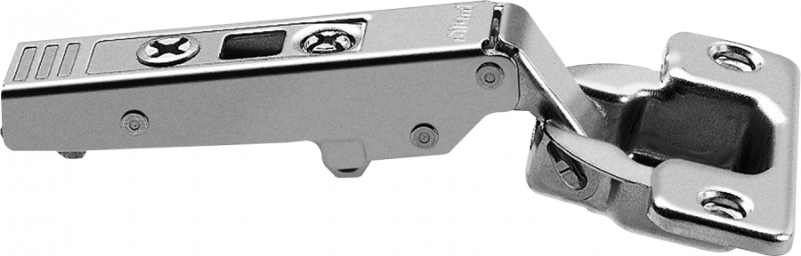 CLIP top hinge 107°, OVERLAY, unsprung, boss: screw-on, NP