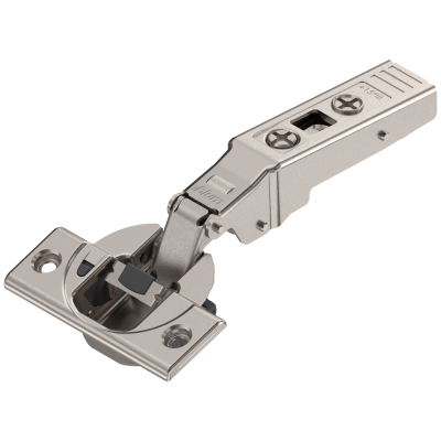 CLIP top BLUMOTION angled hinge for +15° applications, nickel