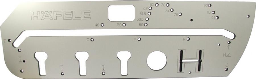 Worktop jig, for worktops 400-940 mm, for right & lift standard 90ø & 45ø joints