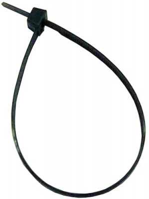 Cable tie, black nylon, 290x4.8 mm