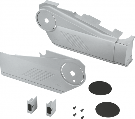 AVENTOS HS lift up, cover cap set (inc trigger switch), left+right, for SERVO-DRIVE