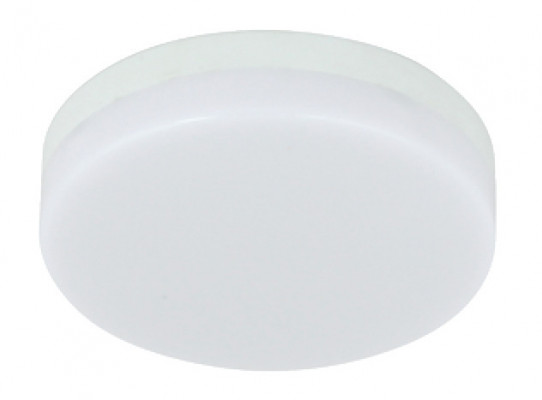 LED lamp, to suit GX53 downlights, 2.2W/240, V LED lamp, Ø 74 mm, warm white 3000 K