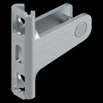 LEGRABOX front fixing bracket, height N (67 mm), SCREW-ON, symmetrical