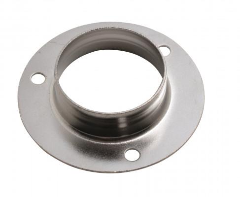 "Round socket, Ø 25 mm (1""), chrome"