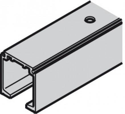 Top track, for sliding doors, Slido classic 120P, L=3000 mm, aluminum