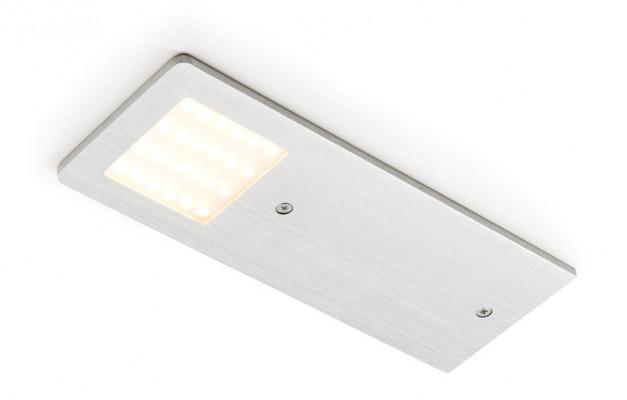 LED Downlight 24 V, glat, IP20, Loox compatible polar TW, 3100-6000 K, Aluminium