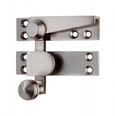 Sash fastener (quadrant arm), architectural, chrome