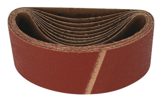 Cloth belt, 75x533 mm, mirka hiolit x, for power sanding, grit 80
