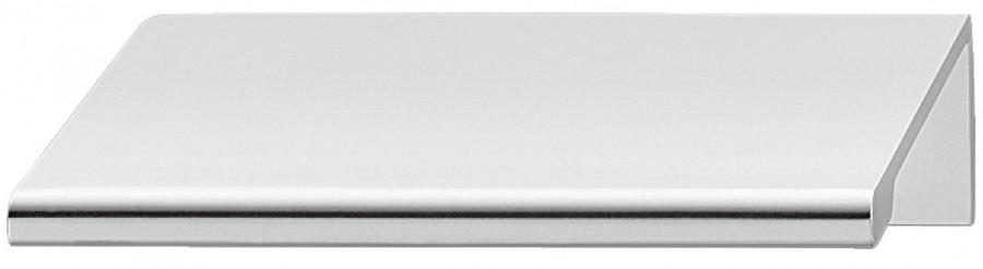 Pull handle, aluminumminum, centres 50 mm, quinn, chrome