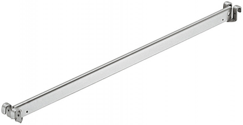 File Conversion Bar 400 White Aluminium
