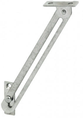 Lid Stay W Guide Slot 150mm Lh