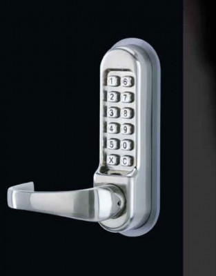 Digital lock, mechanical, for panic devices, diecast aluminum, standard function