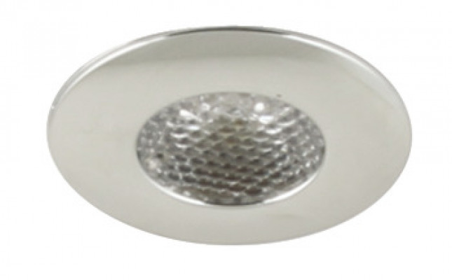 LED Spotlight 1.2W/350mA, Ø 35 mm, IP44, Loox LED pixel, warm white 3000K
