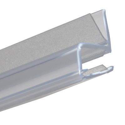 Shower seal, door jamb profile for 90ø applications, L=2010 mm, Transparent