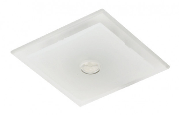 LED spotlight 350mA/1.2W, 46x46 mm, IP44, Loox compatible LED slide, cool white 5000-5700K
