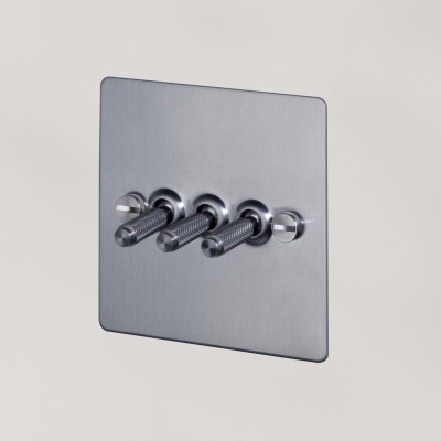toggle switch, 3 gang