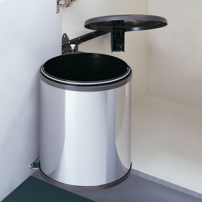 Waste bin, capacity 20 litres, hailo big box, for cabinet width 400 mm