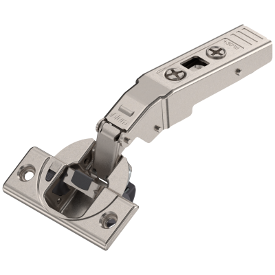 CLIP top BLUMOTION angled hinge for +20° applications, nickel