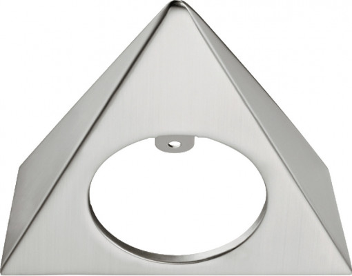 Bezel, triangular, surface mounting Loox LED 4009 downlight, aluminium, matt nickel