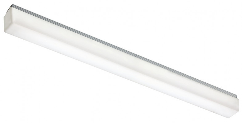 LED profile mirror light 240V/16W, IP44, stratos, L=890 mm, warm white 3000 K