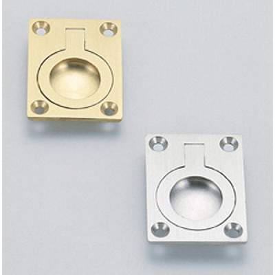 Ring pull, 60 mm, white bronze