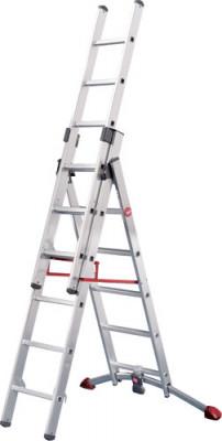 Hailo Profilot Alu Comb Ladder 2X9 +1X8
