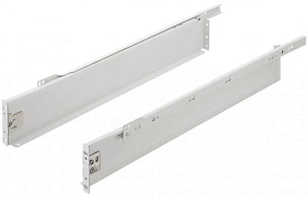 Metal Drawer Sides Silver 86/500mm