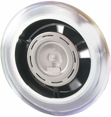 Showerlight Extrator Fan Chr