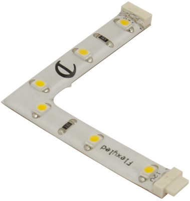 12V/0.48W 90Angle Rh Flex Strip N/W Led
