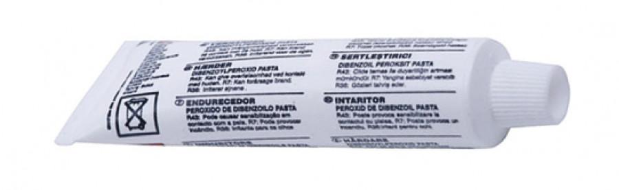 Additional hardener, for wood filler, tube 40 Häfele, tube size 40 g
