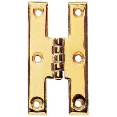 """H hinge, 2 1/2"""", antique"""