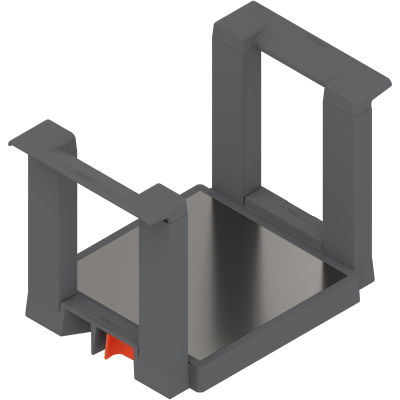AMBIA-LINE plate-holder, height=170 mm, diameter of plates=186-322 mm, orion grey
