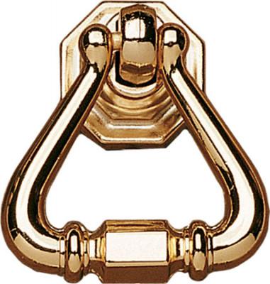 Drop pendant handle, zinc alloy, 44 mm, polished