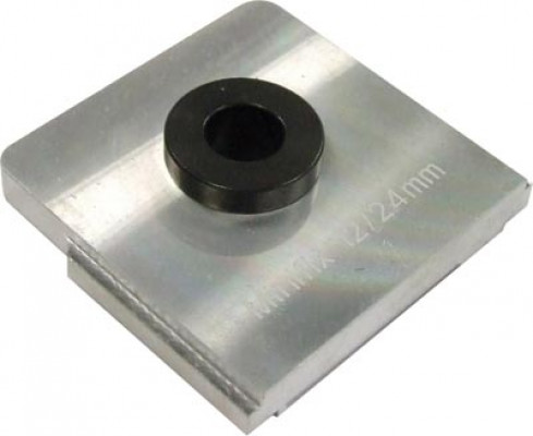 Drill insert, for unitool multi drilling jig, to suit minifix 12, drilling distance 34 mm