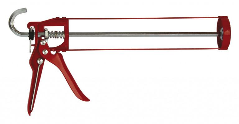 Gun, for sealants & adhesives, ed steel