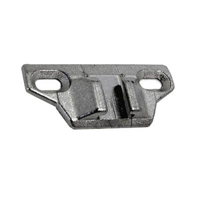 COMPACT hinge mounting plate, 0 mm, nickel