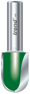 Cutter, draining board router bit, shaft › 1/2in/ 12.7 mm