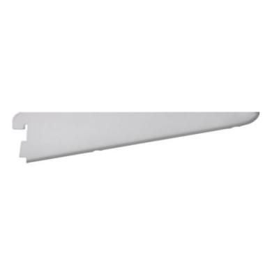 Shelf bracket for twin track shelving, anti bacterial, 120 mm, white