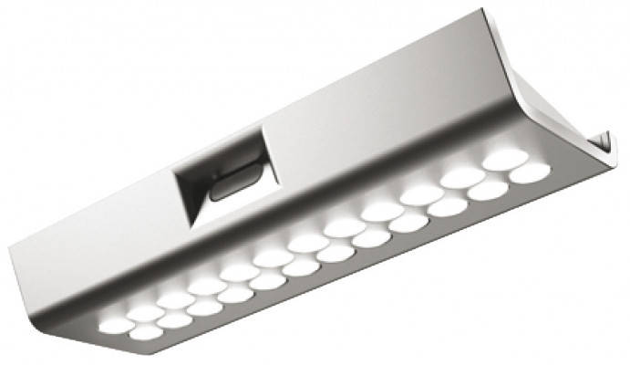 LED downlight 1.6W/12V, 52x135x17.5 mm, rated IP20, LOOX comp, cool white 4000-4500K