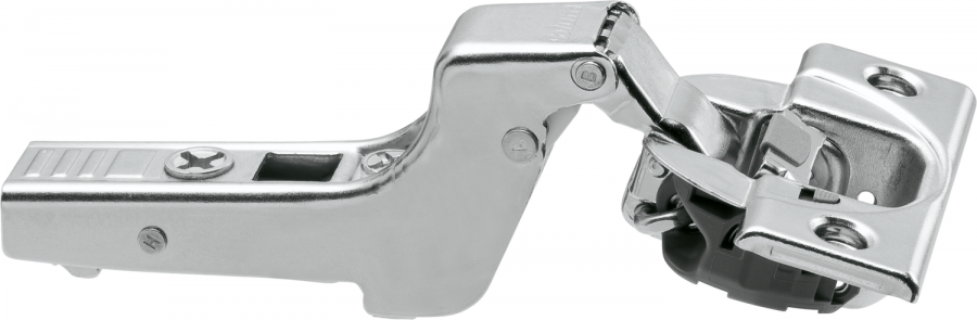 CLIP top BLUMOTION hinge 110°, INSET applications, boss: screw-on, NP