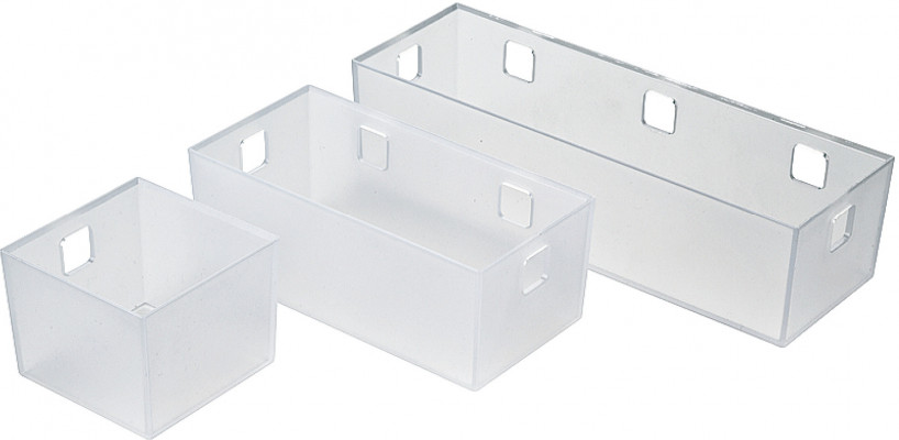 Storage system for under sink drawers, storage tray, ninka banio, 65x85x84 mm