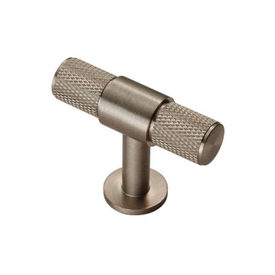 Knurled T bar knob, Ø 13 mm