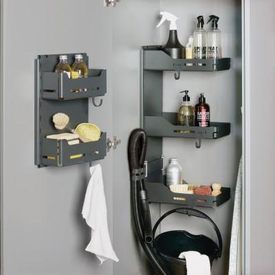 SESAM MINI LIBELL kitchen cupboard door organiser, PEKA, anthracite
