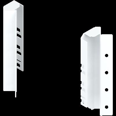 ANTARO/TANDEMBOX back fixings bracket, height C (192 mm), left, silk white