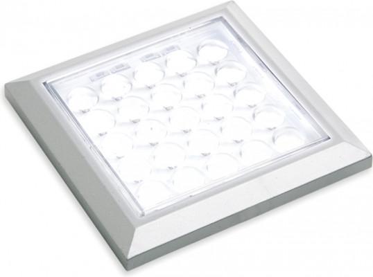 LED spotlight 12V, 64x64 mm, rated IP 20, LOOX compatible LED HE matrix, cool white 5000K